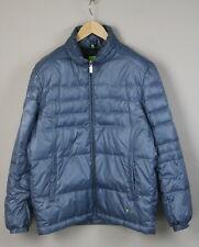 HUGO BOSS GREEN LABEL JURINAS Men's L Quilted Shiny Filled Light Jacket 19404-JS