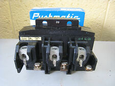 NOS ITE Pushmatic P4320 20-Amp 20A 3-Pole 3P 240V Circuit Breaker Free Shipping