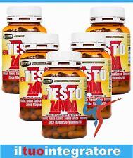 Stimolante Stimolatore TESTOSTERONE Aumento Massa Muscolare e Forza 5 BOX 100 cp