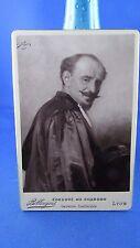 photo cabinet antique picture 19 century albumen print juge judge tableau