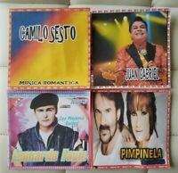 4 DISCOS DE Baladas Romanticas FORMATO MP3. 370 CANCIONES .INCLUYE LISTAS