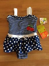 Lycra/Spandex One-Piece Swimwear (Newborn - 5T) for Girls