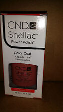 Creative CND Nail Shellac ~ CLAY CANYON ~ Soak Off Gel Polish .25 oz