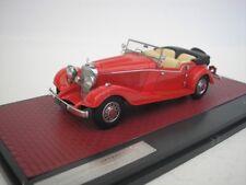 Mercedes Benz 500K Tourer Mayfair 1934 Rojo 1/43 Matrix MX41302-141 Nuevo