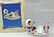 2004 Hallmark Frosty Friends Keepsake Ornament 25th in Series Ice Slide #25 Nib