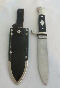 Vtg FAN CO.SOLINGEN POST WAR COPY WW2 GERMAN HJ YOUTH SCOUT CAMP KNIFE DAGGER