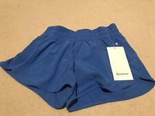 Lululemon Wild Bluebell Tracker Shorts Size 6 NWT