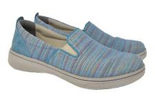 DANSKO Sz 9.5 - 10 EU 40 Blue Multicolor Slip On Comfort Loafers
