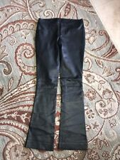 Gucci Women Black Soft Leather Pants Size 38 Inseam 33 hardly worn