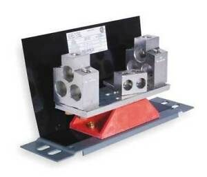 SQUARE D AL800SN SOLID NEUTRAL ASSEMBLY FOR CU OR AL CONDUCTORS