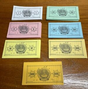 Monopoly Spongebob Squarepants Edition 2005 Replacement Parts/Piece- Play Money