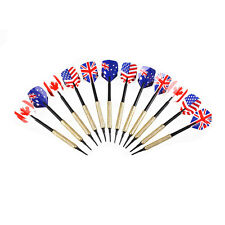 12Pcs Safety Plastic Soft Tip Darts with 36 Extra Tips Nice Flights Set