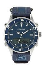 KAHUNA MEN'S BLUE DIAL RIP TAPE STRAP ANA-DIGI SPORTS WATCH -RRP:£45- K5V-0011G