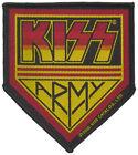 KISS - Kiss Army - 8,8 cm x 10 cm - Patch - 167731
