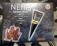 Neha Henna Cone - Temporary Tattoo Paste Cone Body Art Painting - Black Color