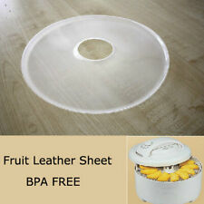Kitchen Round Anti Leakage Food Dryer Roll-up Sheet Fruit Dehydrator Accessory