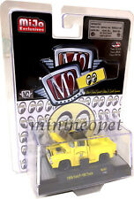 M2 MACHINES M2 32500 MJS07 MOONEYES 1956 FORD F 100 PICK UP TRUCK 1/64 YELLOW