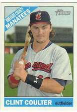 2015 Topps Heritage Minor League #58 Clint Coulter  Brevard County Manatees