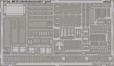 Eduard 1:72 BR 52 w/Steifrahmentender p. 2 PE Detail Set For Hobby Boss #22133