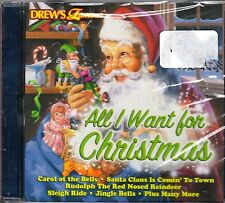 Drew's Famous ALL I WANT FOR CHRISTMAS: 15 TRADITIONAL HOLIDAY CLASSIC SONGS CD!