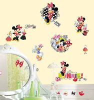 RoomMates Minnie Mouse 21 pcs Peel and Stick Wall Decals 27001