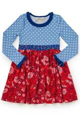 Matilda Jane Girls Size 6 Nothing But Nice Dress Make Believe NWT In Bag New