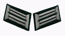 German WW2 Army officer collar tabs Engineers