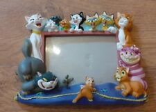 More details for disney pets cats 3d resin 5 x 7 photo frame rare collectable