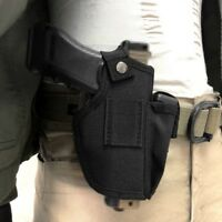 IWB Concealed Belt Clip-On Carry Gun Holster Pouch for Compact Subcompact gun