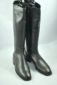 Bally Switzerland Brown Leather Women's Knee High Riding Boots size 38.5 US 8