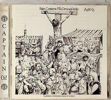 THE BLOOD- False Gestures For A Devious Public 1983 Album +BONUS TRACKS CD Punk