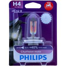 H4 PHILIPS CityVision Moto - 40% Mehr Licht Vibratrionsfest Effekt NEU