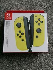 Nintendo Switch Joy-Con (L/R) Wireless Controller Pair - Yellow NEW!
