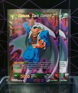 Dragon Ball Super CCG/ x2 Dabura, Dark Gambit 1xFoil1xRegular  BT11-086 R