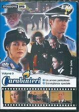 Carabinieri vol.9 (2002) DVD NUOVO Manuela Arcuri Martina Colombari Ettore Bassi