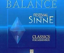 Balance - Festival der Sinne - Vol. 1-5 von Various   CD   Zustand gut