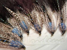 Irideus Blueberry Soft Hackle Wooly Bugger Streamer flies Trout Fly Fishing