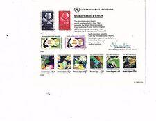 1989 UN Mint Souvenir Card world weather watch  17 cards in auction