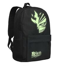 BLEACH Luminous Backpack Anime School Bag  Oxford Fans Collection Pockets