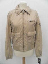 Ralph Lauren Ladies Jacket Coat Beige Military Bomber Size Large 12 14 £165 New