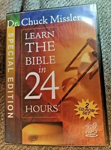 LEARN THE BIBLE IN 24 HOURS 2 CD-ROM Set Chuck Missler 2005 Version 4.0 Win/Mac