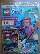 LEGO Friends Magazine 6/2019 + Limited Edition Mini Figure Robot Zobo + hamster