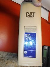 UP TO 1992 CATERPILLAR 936F WHEEL LOADER FACTORY SERVICE MANUAL 8AJ 9MK 4TK