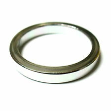 """gobike88 MR CONTROL Alloy 3mm Thick Headset Spacer 5mm, 1-1/8"""",5g, Silver, L42"""