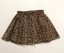 NWT Old Navy Girls Tulle Tutu Skirt 5T Animal Print Brown Fully Lined