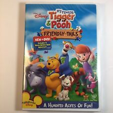 My Friends Tigger & Pooh: Friendly Tails (DVD, 2008) RARE BRAND NEW FACTORY SEAL