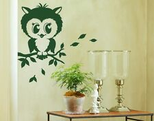 Pretty Owl - highest quality wall decal stickers