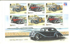 Jersey-Cars-min sheet/pane-Riley-Ford Anglia-Vintage cars mnh