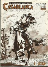 CASABLANCA n° 24 (Black Out, 1994) fanzine fumetti