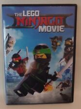 THE LEGO NINJAGO MOVIE, DVD, SINGLE DISC W/CASE & COVER ARTWORK
